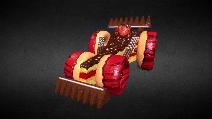 Sweet Track Car 3 3D Model
