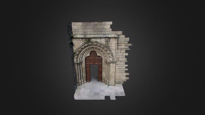 Portada Iglesia de San Pedro (Lugo) 3D Model