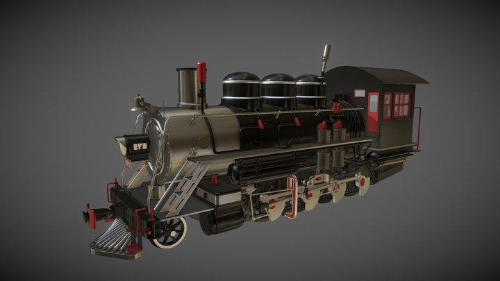 Locomotive279 3D Model