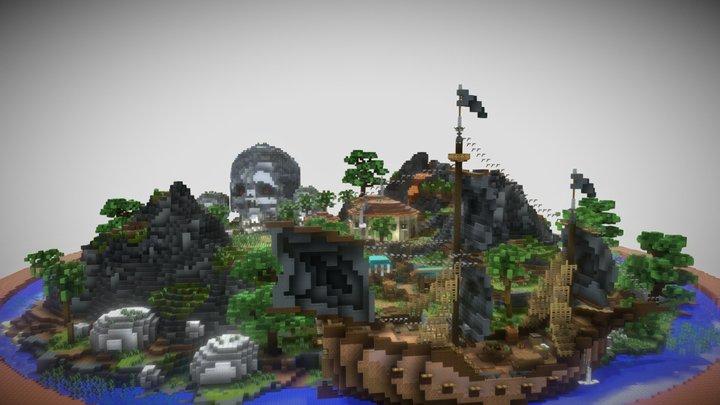Pirate Refuge Spawn 3D Model