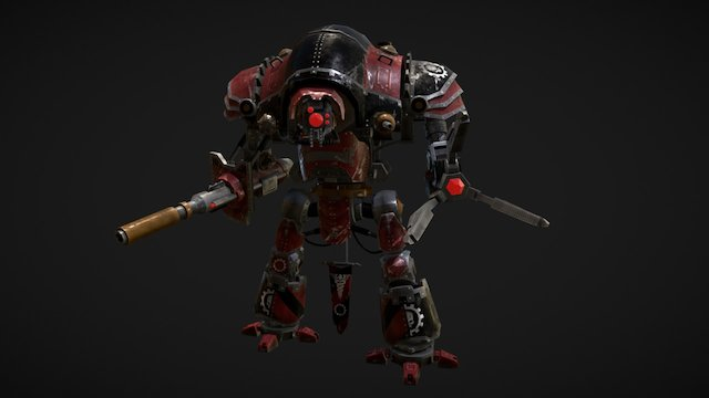 Questoris Knight Magaera 3D Model