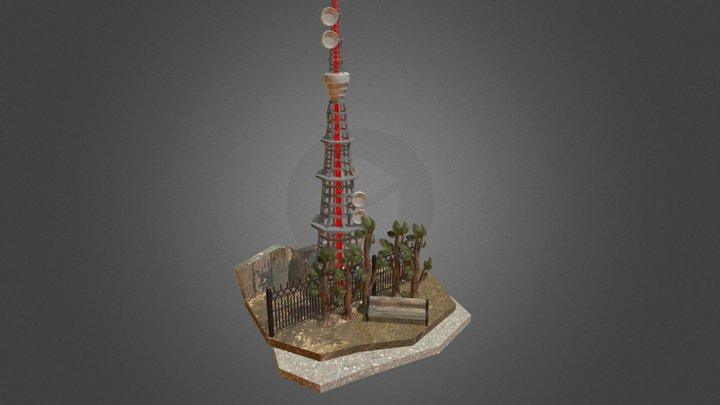Tele Tower 3D Model