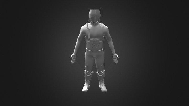 Character Export 3D Model