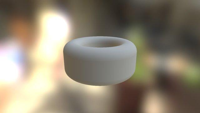 Necklace Element_Circle 18mm 3D Model