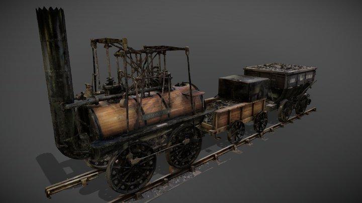Locomotion No. 1 3D Model