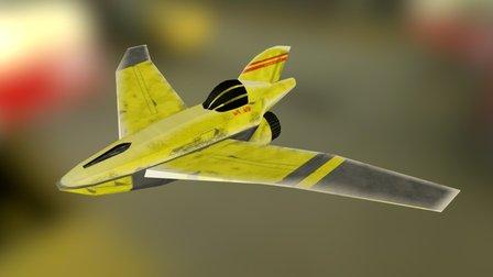 Talon I - Combat Cloud Car 3D Model