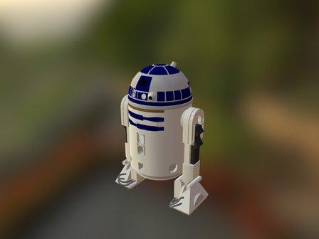 r-r2-d2 3D Model