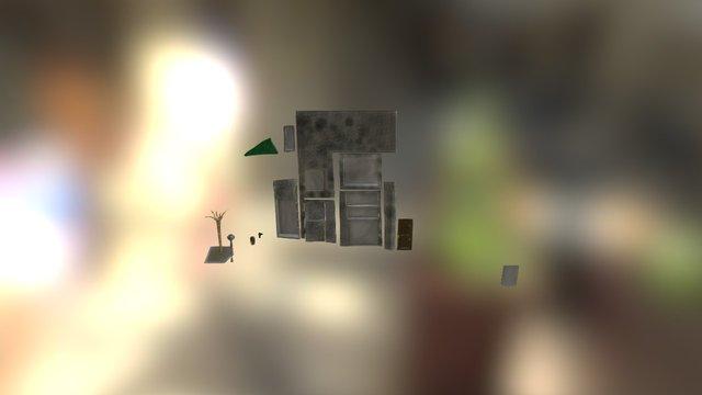 Case 2 Game Eksammen 2015 3D Model