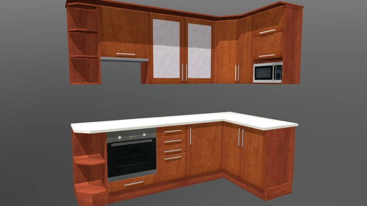 Kitchen cabinet 6 3D Model