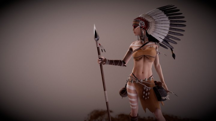 Linhi Character Preview 3D Model