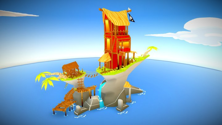 Yarharrr Barrr 3D Model