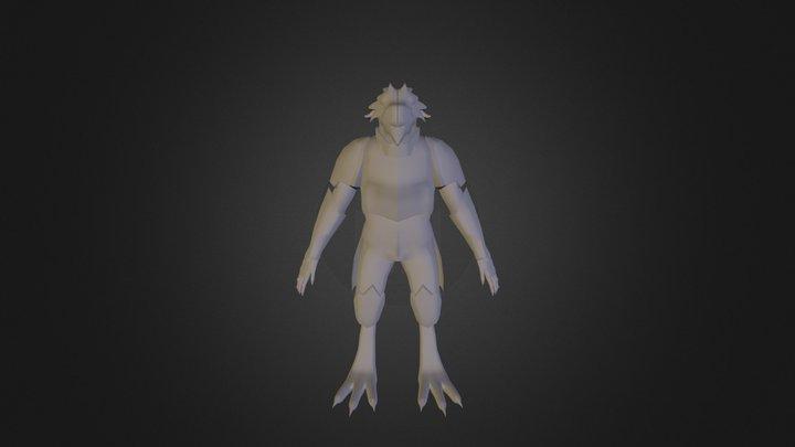 Saurus V1 3D Model