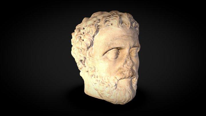 Portrait of a Bearded Roman 3D Model