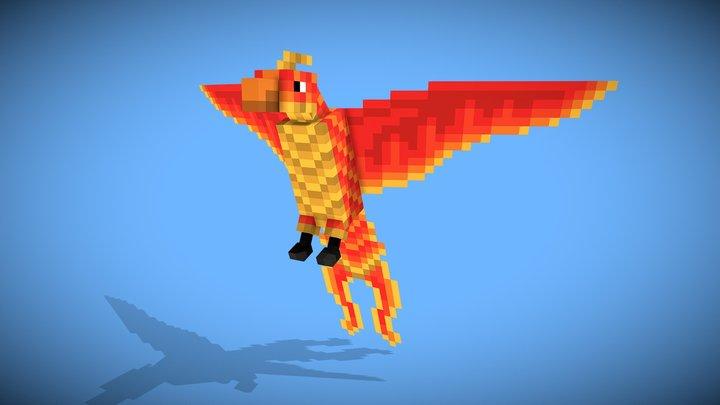 Phoenix 3D Model