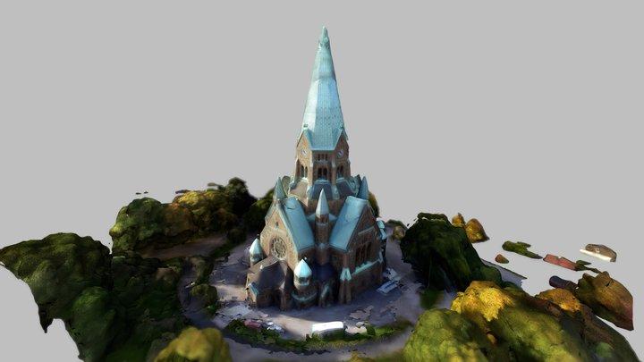 Sofia kyrka 3D Model