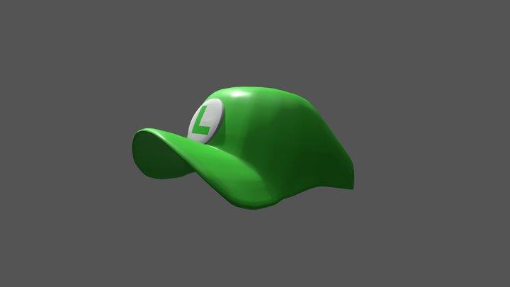 Luigi Hat 3D Model