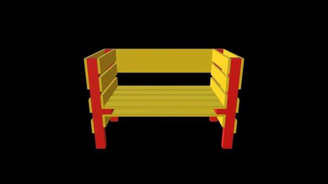 Kraeuter Garten Chair 1 3D Model