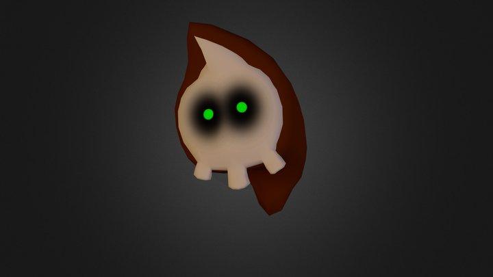 Ghosty 3D Model