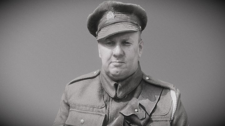 Great War British ASC Serviceman 3D Model