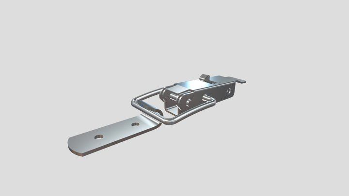 K_SCHLOß Verz 1/60 F - NL: 4,1 mm 3D Model