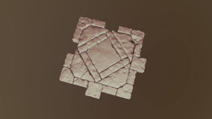 Tile Mesh High 3D Model