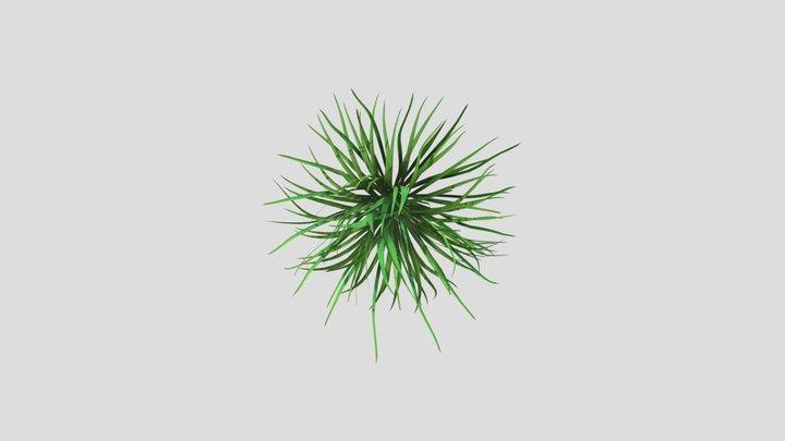 A hand full Of Grass 3D Model