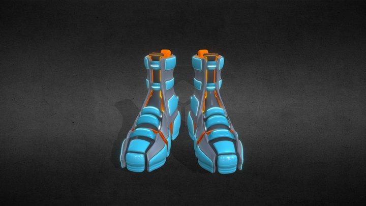 Shoes 3D. Future 3D Model