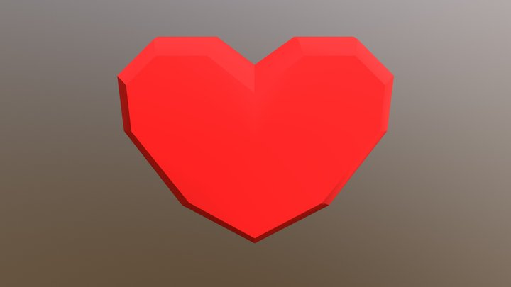 SM Heart 3D Model