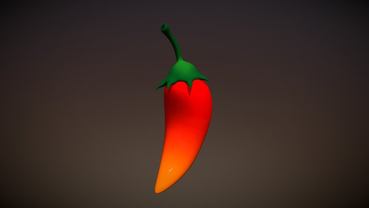 Chile (Red) 3D Model