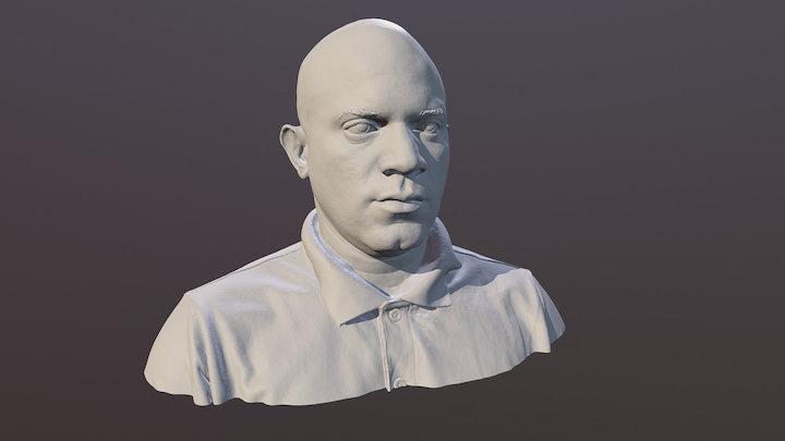 Sample Bust Scan 3D Model