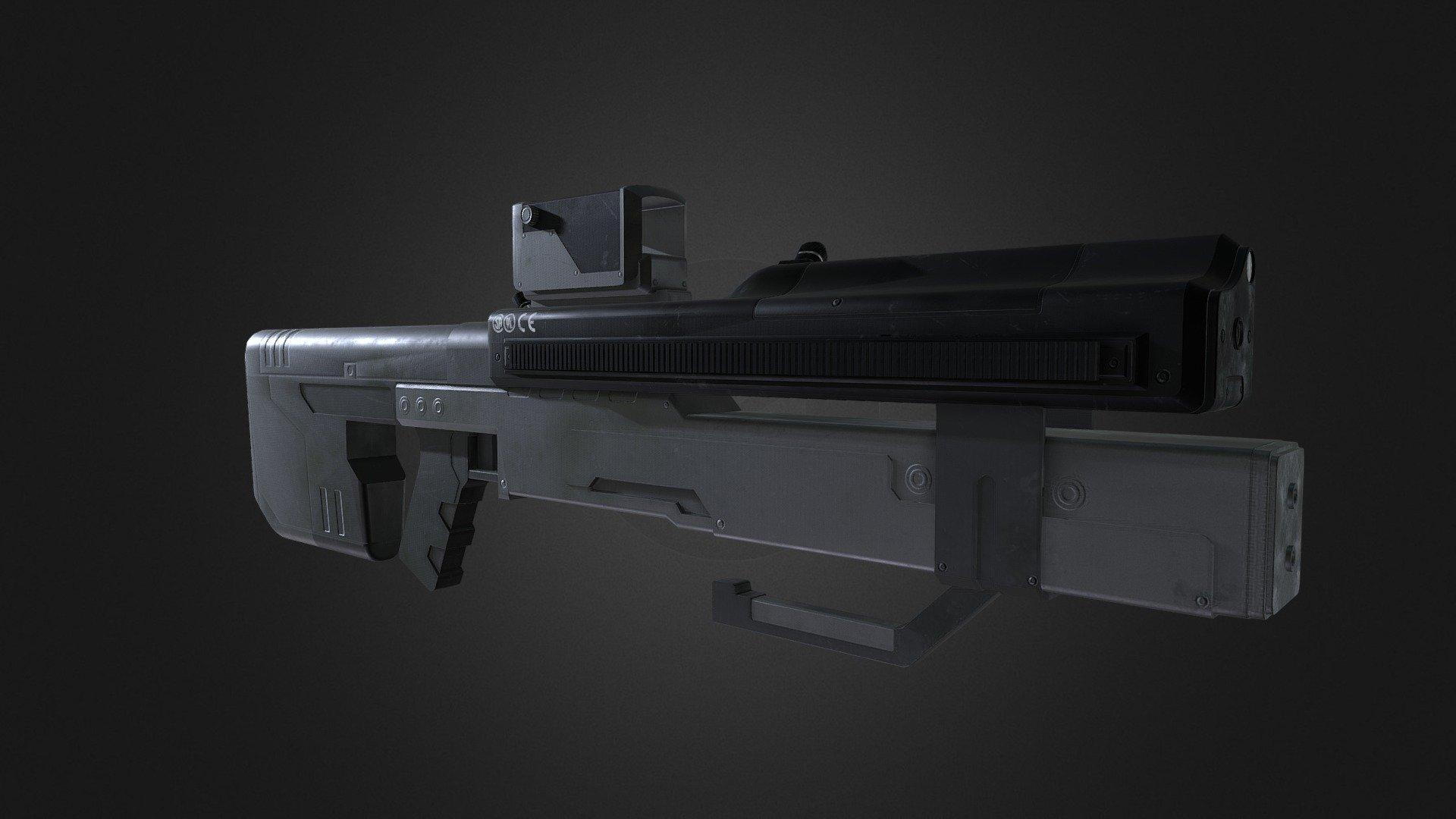 Halo Landfall Laser Designator 3d Model By Jedii Jedii
