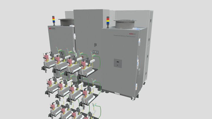 Scienlab Combined Battery Test Solution 3D Model