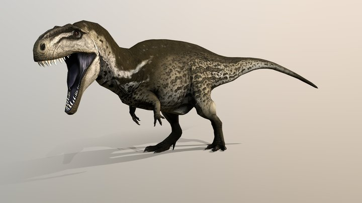 Acrocanthosaurus - Cretaceous Calamity 3D Model