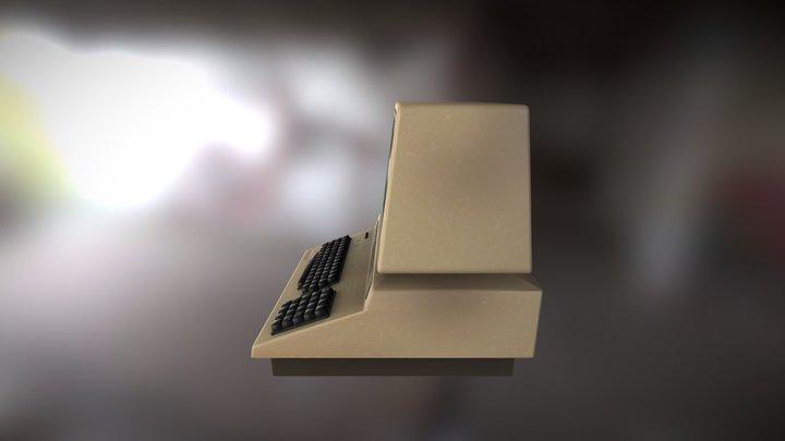 Thomasson Terminal Computer (PBR) 3D Model