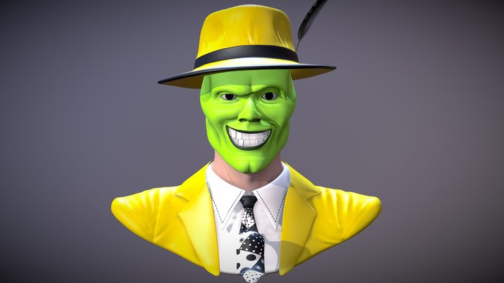 The Mask Sculpt 3D Model