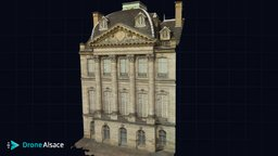 Palais Rohan - Strasbourg 3D Model