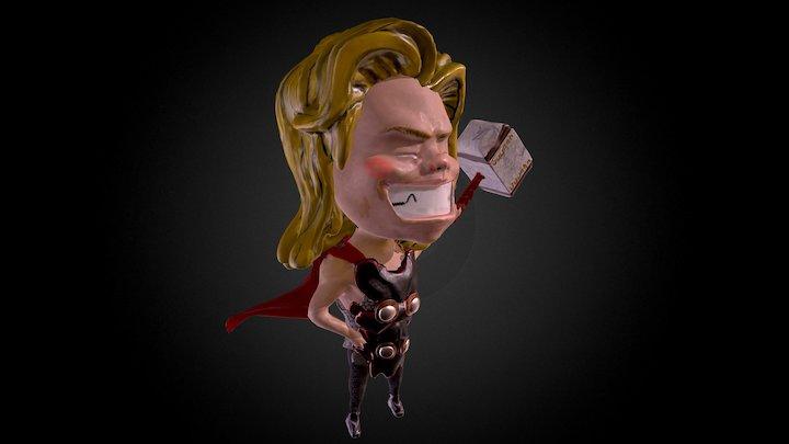 Mini Thor 3D Model