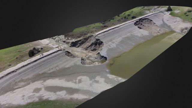 Sparmos Dam 3D Point Cloud 3D Model