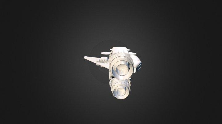 Star Citizen: Drake Herald 3D Model