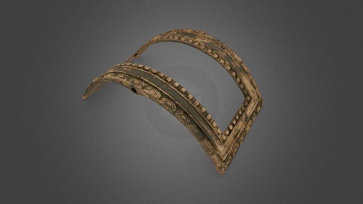 Kengänsolki, Shoe Buckle (SMM184:2c) 3D Model