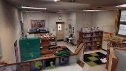 Hyde Park school library 3D Model