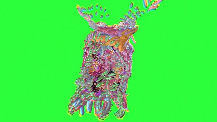 HyperFlower 3D Model