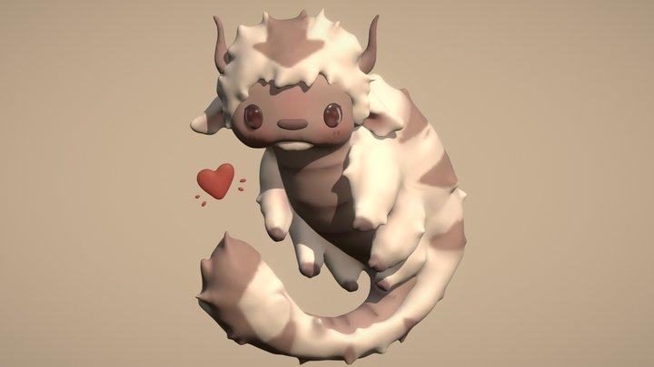 Cute Appa 3D Model