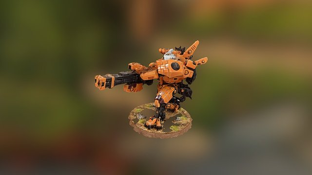 XV88 Broadside 3D Model