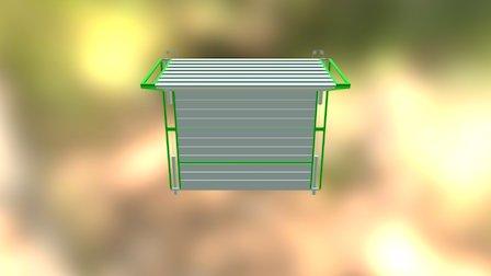 Hangar Door 3D Model