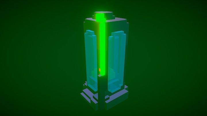 Bio Capsule 3D Model
