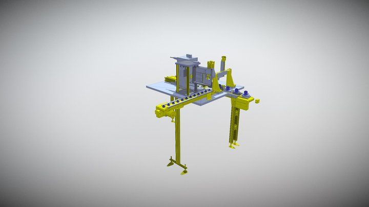 Welding Jig 3D Model