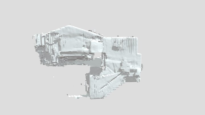iPad Pro Living Room ARKit Scan Test 3D Model