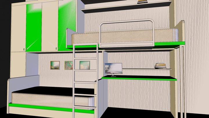 bunk-bads 3D Model