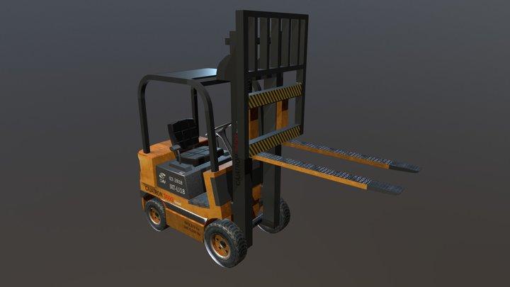 Cajatron 3600 3D Model